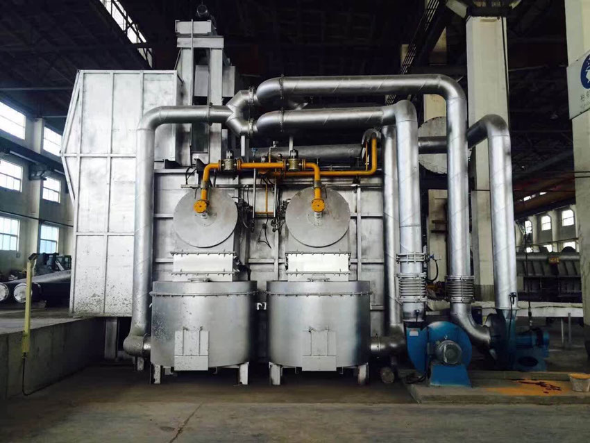熔铝炉 Aluminium melting furnace